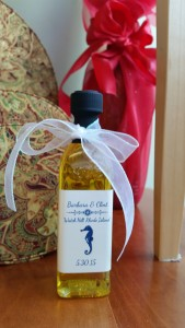 wedding favor 1 bottle