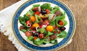 Zatar salad