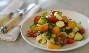 pulled-basil-tomato-salad